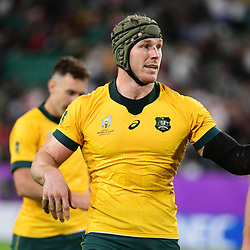 David POCOCK of Australia during the Rugby World Cup 2019 Quarter Final match between England and Australia on October 19, 2019 in Oita, Japan. (Photo by Dave Winter/Icon Sport) - David POCOCK - Oita Stadium - Oita (Japon)