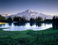 Glacier Peak and Image Lake, Glacier Peak Wilderness Washington USA