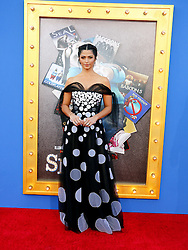 Camila Alves at the Los Angeles premiere of 'Sing' held at the Microsoft Theater in Los Angeles, USA on December 3, 2016.