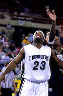 26 November 2005: MU junior Marques Alston (23) in the Monmouth University 54-62 loss to Oral Roberts University at the Great Alaska Shootout in Anchorage, Alaska