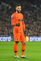 February 13, 2019 - London, England, United Kingdom - Tottenham goalkeeper Hugo Lloris during the UEFA Champions League match between Tottenham Hotspur and Ballspielverein Borussia 09 e.V. Dortmund at Wembley Stadium, London on Wednesday 13th February 2019. (Credit: Jon Bromley | MI News & Sport Ltd) (Credit Image: © Mi News/NurPhoto via ZUMA Press)
