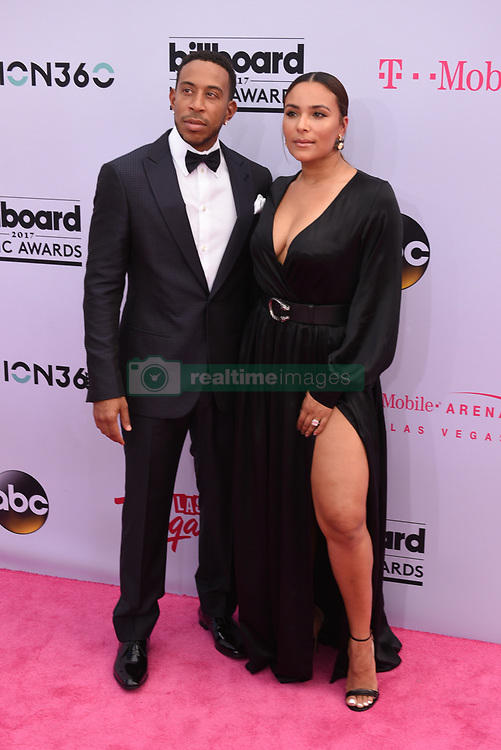 Co-Host  Ludacris (L) and Eudoxie Mbouguiengue at 2017 Billboard Music Awards held at T-Mobile Arena on May 21, 2017 in Las Vegas, NV, USA (Photo by Jason Ogulnik) *** Please Use Credit from Credit Field ***