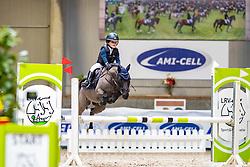 Van Den Eynde Jitske, BEL, Echington<br /> Nationaal Indoor Kampioenschap Pony's LRV <br /> Oud Heverlee 2019<br /> © Hippo Foto - Dirk Caremans<br /> 09/03/2019