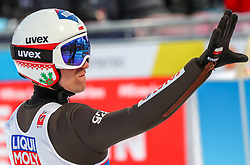 02.03.2019, Seefeld, AUT, FIS Weltmeisterschaften Ski Nordisch, Seefeld 2019, Skisprung, Mixed Team Bewerb, im Bild Kamil Stoch (POL) // Kamil Stoch of Poland during the mixed team competition in ski jumping of nordic combination of FIS Nordic Ski World Championships 2019. Seefeld, Austria on 2019/03/02. EXPA Pictures © 2019, PhotoCredit: EXPA/ JFK