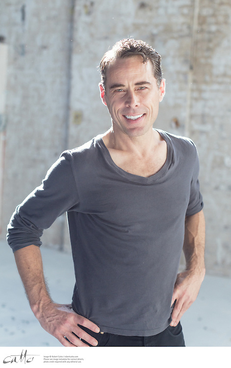 Angels In America cast member Marcus Graham at the Belvoir rehearsal space in Surry Hills, New South Wales.