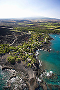 Aerial, Kona Village, Kona Coast, Island of Hawaii