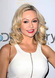 © Licensed to London News Pictures. 28/03/2014, UK. Kristina Rihanoff, Broadcasting Press Guild (BPG) Television & Radio Awards, Theatre Royal, Drury Lane London UK, 28 March 2014. Photo credit : Richard Goldschmidt/Piqtured/LNP