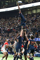 November 25, 2017 - Paris, France - Sekou Macalou in action during the International test match between France and Japan at U Arena. (Credit Image: © Nicolas Briquet/SOPA via ZUMA Wire)