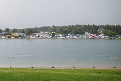 28.07.2016, Schwarzlsee, Unterpremstätten bei Graz, AUT, Lake Festival, im Bild der Campingplatz // Campers during the Lake Festival at the Schwarzl Lake, Unterpremstaetten at Graz, Austria on 2016/07/28, EXPA Pictures © 2016, PhotoCredit: EXPA/ Erwin Scheriau