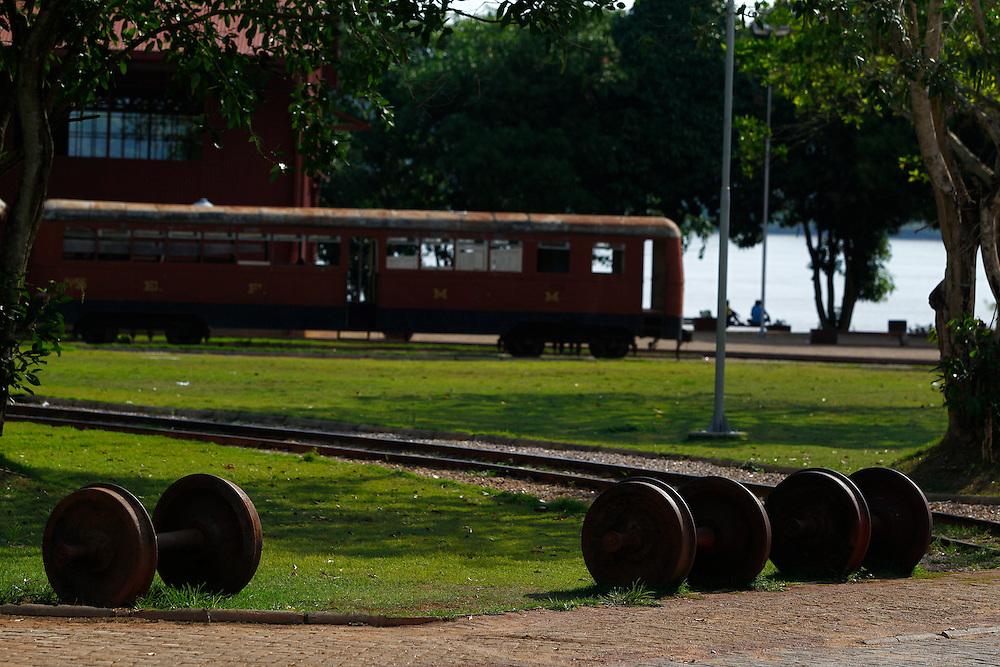Porto Velho_RO, Brasil.<br /> <br /> Complexo estrada de ferro madeira-mamore em Porto Velho, Rondonia.<br /> <br /> Madeira Mamore railway  complex in Porto Velho, Rondonia.<br /> <br /> Foto: MARCUS DESIMONI / NITRO