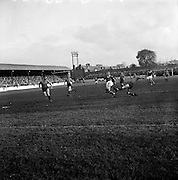 29/10/1961<br /> 10/29/1961<br /> 29 October 1961<br /> Soccer; Drumcondra v Cork Hibernians in the final round of the Shield Competition at Tolka Park, Dublin.