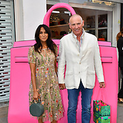 Jackie St Clair arrive at the Handbag Clinic - relaunch at 382 King's Road on 4 September 2019, London, UK.