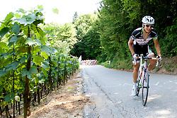 Cyclist during Slovenian National Championship Mirna Pec 2012, on June 24, 2012, in Mirna Pec, Slovenia. (Photo by Urban Urbanc / Sportida.com)