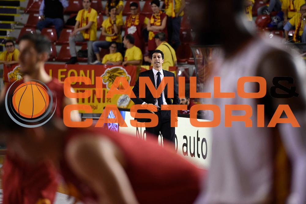 Antimo Martino<br /> Unicusano Roma - OraSi Ravenna<br /> Campionato Basket LNP 2016/2017<br /> Roma 05/05/2017<br /> Foto Ciamillo-Castoria
