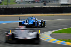 June 15, 2018 - Le Mans, Sarthe, France - Cetilar Villorba Corse DALLARA P217 Gibson Driver Roberto LACORTE (ITA) in action during the 86th edition of the 24 hours of Le Mans 2nd round of the FIA World Endurance Championship at the Sarthe circuit at Le Mans - France (Credit Image: © Pierre Stevenin via ZUMA Wire)