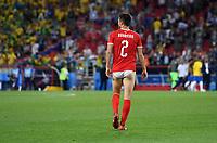 FUSSBALL WM 2018  Vorrunde  Gruppe E  ------- Serbien - Brasilien       27.06.2018 Antonio Rukavina (Serbien) steht ohne Hose da
