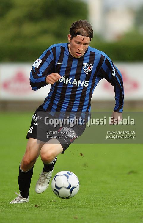 Matti Heimo, Inter.&amp;#xA;2005.&amp;#xA;Veikkausliiga.&amp;#xA;Photo: Jussi Eskola<br />
