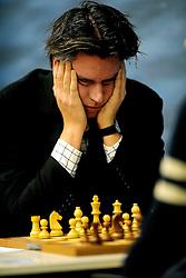 17.01.2011, Mondriaan Centre, Wijk aan Zee, NED, Tata Steel Chess Tournament 2011, im Bild Sebastian Siebrecht GER .EXPA Pictures © 2011, PhotoCredit: EXPA/ nph/  Hoogendoorn       ****** out of GER / SWE / CRO ******