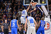 Gani Lawal, Amath M'Baye<br /> Banco di Sardegna Dinamo Sassari - Enel New Basket Brindisi<br /> Legabasket Serie A LBA Poste Mobile 2016/2017<br /> Sassari 02/04/2017<br /> Foto Ciamillo-Castoria