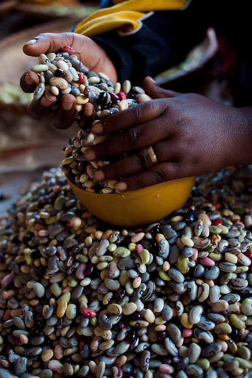Market at Gisenyi, Rwanda