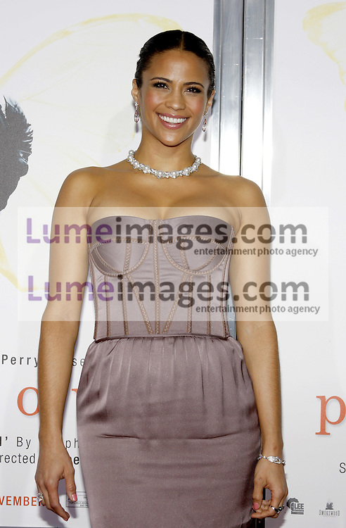 HOLLYWOOD, CA - NOVEMBER 01, 2009. Paula Patton at the AFI FEST 2009 Screening of 'Precious' held at the Grauman's Chinese Theater in Hollywood, USA on November 1, 2009.