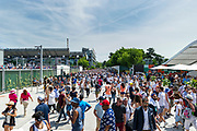 Ambiance during the Roland Garros French Tennis Open 2018, day 1, on May 27, 2018, at the Roland Garros Stadium in Paris, France - Photo Pierre Charlier / ProSportsImages / DPPI