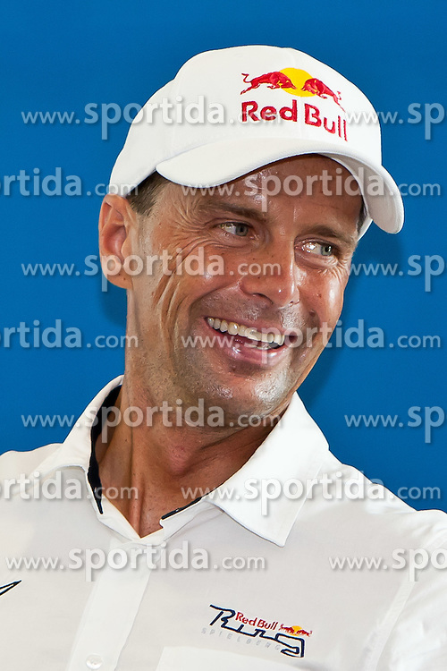 21.08.2011, Red Bull Ring, Spielberg, AUT, IDM Spielberg, im Bild Pressekonferenz mit Andreas Meklau// during the IDM weekend on the Red Bull Circuit in Spielberg, 2011/08/21, EXPA Pictures © 2011, PhotoCredit: EXPA/ M.Kuhnke