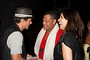 Greg Vaughn, Laurence Fishburne, and Touriya Haoud
