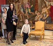 Copenhagen 24-11-2015<br /> <br /> Crown Princess Mary attend French Embassy's Prize for Human Rights 2015. Before the ceremony the Crown Princess lay flowers to honor the victims of the Paris terrorist attack .<br /> Royalportraits Europe-Bernard Ruebsamen