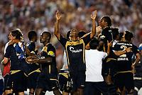 20091202: RIO DE JANEIRO, BRAZIL - South-American Cup 2009, Final: Fluminense vs LDU Quito. In picture: LDU Quito players celebrating victory. PHOTO: CITYFILES