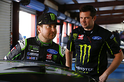 April 27, 2018 - Talladega, Alabama, United States of America - Kurt Busch (41) hangs out in the garage during practice for the GEICO 500 at Talladega Superspeedway in Talladega, Alabama. (Credit Image: © Chris Owens Asp Inc/ASP via ZUMA Wire)