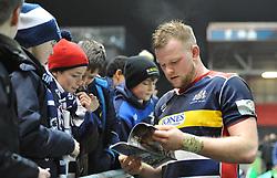 Joe Joyce of Bristol Rugby - Mandatory by-line: Paul Knight/JMP - 22/12/2017 - RUGBY - Ashton Gate Stadium - Bristol, England - Bristol Rugby v Cornish Pirates - Greene King IPA Championship