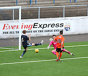Aaron Duke equalises for Dundee United - Dundee v Dundee United under 20s<br /> <br />  - &copy; David Young - www.davidyoungphoto.co.uk - email: davidyoungphoto@gmail.com