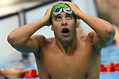 Chad Le Clos wins gold, Tuesday 31 July