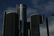 General Motors global headquarters at the Renaissance Center in Detroit, MI, Monday, March 30, 2009. GM's Chairman and CEO Rick Wagoner stepped down on Sunday, March 29, 2009, after the Obama administration asked him to resign. GM filed for bankruptcy Monday, June 1, 2009.
