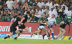 Pretoria, Loftus Versveld Stadium. Rugby Championship. South African Springboks vs New Zealand All Blacks.  06-10-18 Springbok player Jesse Kriel breaks towards the touchline. <br /> Picture: Karen Sandison/African News Agency(ANA)