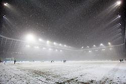 Arena Stozice during football match between NK Olimpija and NK Maribor in firs leg of quarter-final of Slovenia Cup, on February 23, 2013 in Stadium Stozice, Ljubljana, Slovenia. (Photo by Urban Urbanc Velej / Sportida.com)