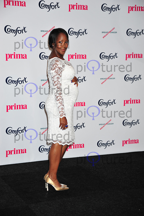 Angelica Bell attends the Comfort Prima High street fashion awards at Battersea Evolution in London  . Photo credit should read ALAN ROXBOROUGH /Piqtured