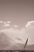 Ranger, J Class, sailing in The Superyacht Cup regatta, Antigua 2010, race 2.
