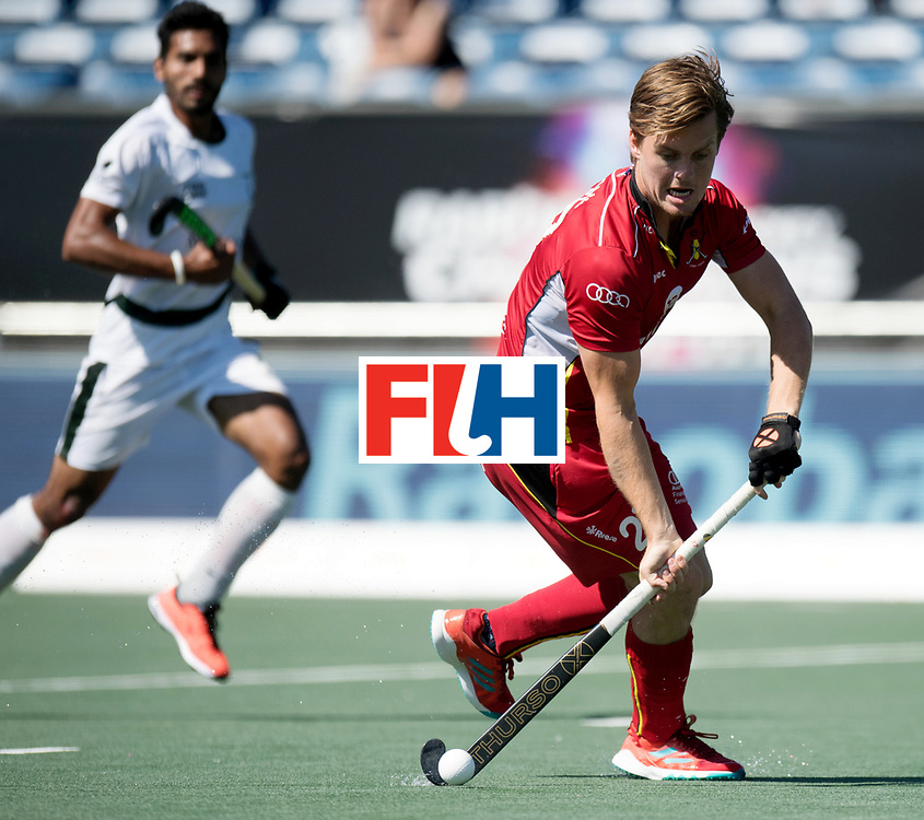 BREDA - Rabobank Hockey Champions Trophy<br /> Belgium - Pakistan<br /> Photo: Tom Boon.<br /> COPYRIGHT WORLDSPORTPICS FRANK UIJLENBROEK