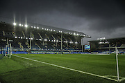 Goodson Park Stadium during the Barclays Premier League match between Everton and Tottenham Hotspur at Goodison Park, Liverpool, England on 3 January 2016. Photo by Simon Davies.