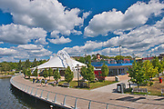 Wharf area on Lake of the Woods<br />