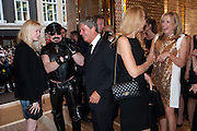 ISABELLE MARINO; PETER MARINO; YVES CARCELLE; JERRY HALL, Louis Vuitton openingof New Bond Street Maison. London. 25 May 2010. -DO NOT ARCHIVE-© Copyright Photograph by Dafydd Jones. 248 Clapham Rd. London SW9 0PZ. Tel 0207 820 0771. www.dafjones.com.