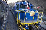 Machu Picchu train  Peru