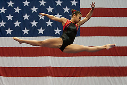 USA Gymnastics GK Classic - Schottenstein Center, Columbus, OH - July 28th, 2018. Isabel Mabanta  competes in the beam  at the Schottenstein Center in Columbus, OH; in the USA Gymnastics GK Classic in the senior division. - Photo by Wally Nell/ZUMA Press