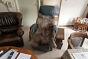 comfortable large armchair in a elderly residential home