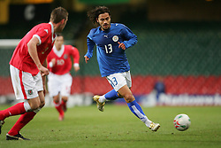 CARDIFF, WALES - WEDNESDAY, MARCH 1st, 2006: Paraguay's Carlos H. Paredes during the International Friendly match against Wales at the Millennium Stadium. (Pic by Dan Istitene/Propaganda)