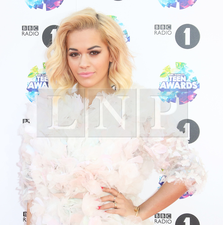 Rita Ora, BBC Radio 1 Teen Awards, Wembley Arena, London UK, 03 November 2013, Photo by Richard Goldschmidt © Licensed to London News Pictures. Photo credit : Richard Goldschmidt/Piqtured/LNP
