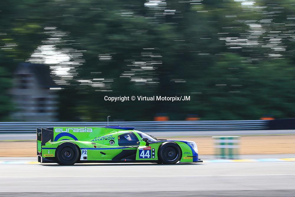 #44, Eurasia Motorsport, Ligier JSP217-Gibson, LMP2, driven by: Andrea Bertolini, Niclas Jonsson, Tracy Krohn, 24 Heures Du Mans  2018, , 16/06/2018,