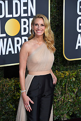 January 6, 2019 - Beverly Hills, California, U.S. - JULIA ROBERTS during red carpet arrivals for the 76th Annual Golden Globe Awards at The Beverly Hilton Hotel. (Credit Image: © Kevin Sullivan via ZUMA Wire)
